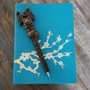 Other - Eccolo World Traveler Journal and buddha ink pen